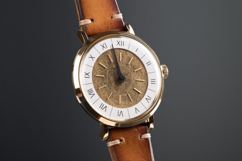 Gnomon - дизайнерские часы от Solar Lab