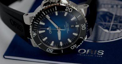 Лимитка Oris Aquis Clipperton - такого синего цвета вы еще не видели
