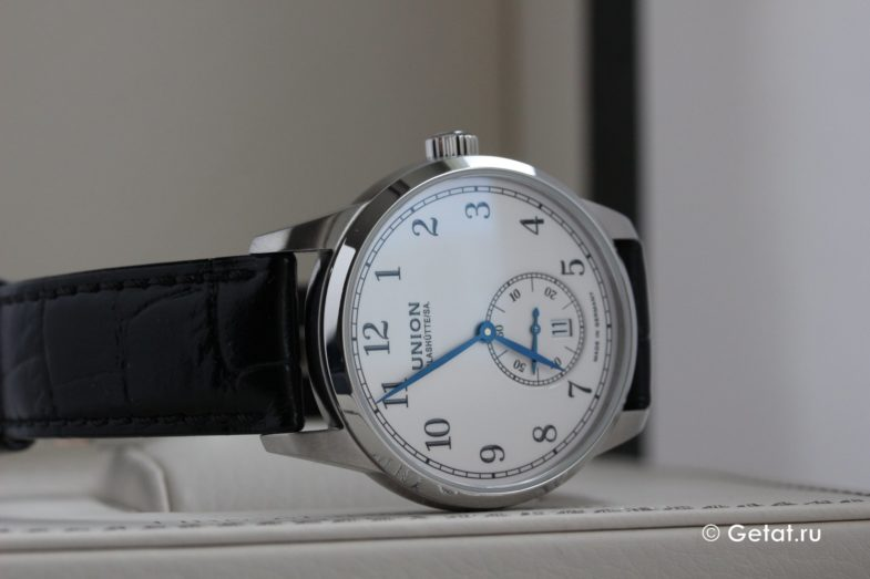 Union Glashutte 1893 Small Second - классика из Германии