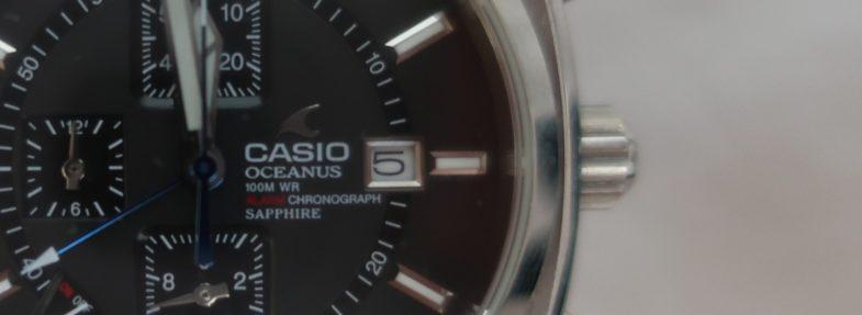 Casio Oceanus OC-503. Флагман первого поколения