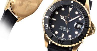 Steinhart Ocean One 39 pink gold - Ролекса много не бывает!