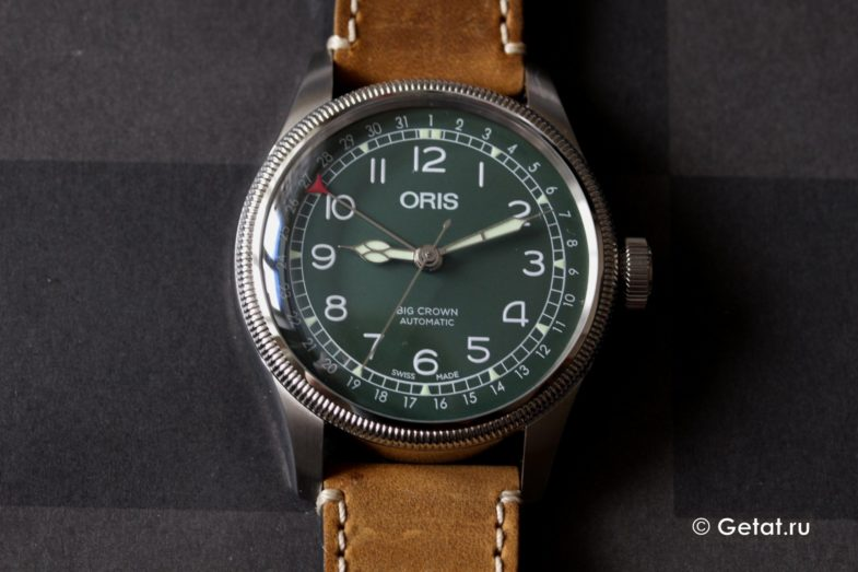 Обзор Oris Big Crown Pointer Date D.26 286 HB-RAG Limited Edition