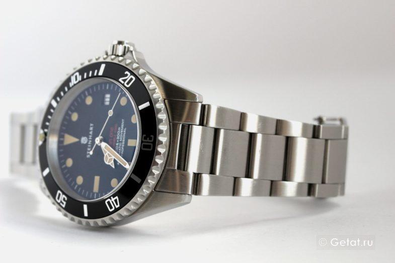 """Steinhart Ocean One Vintage Red - обзор """"честных часов"""""""