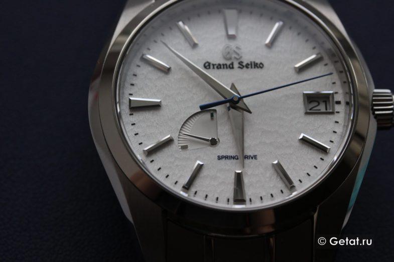 Обзор Grand Seiko SBGA211 Snowflake Spring Drive - так ли они хороши?