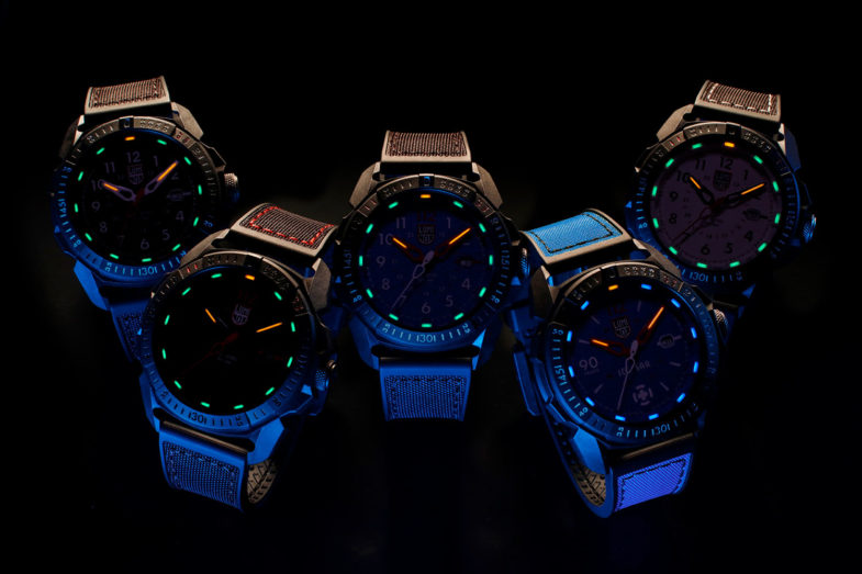 Две новые серии от Luminox