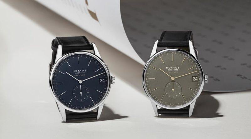 Новые цвета коллекции Nomos Orion Neomatik