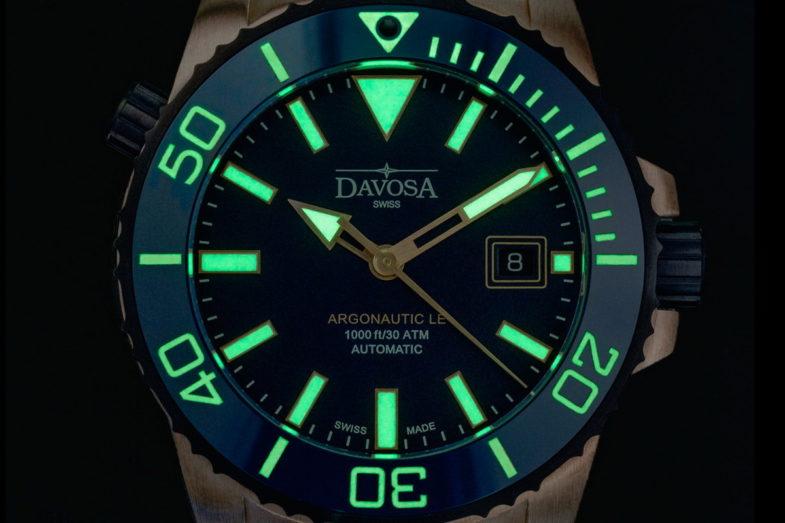 Дайверская бронзовая лимитка от Davosa
