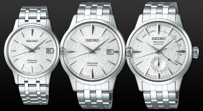 Две диаметрально противоположные серии от Seiko
