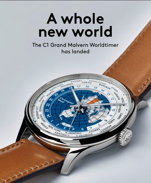 Christopher Ward C1 Grand Malvern Worldtimer