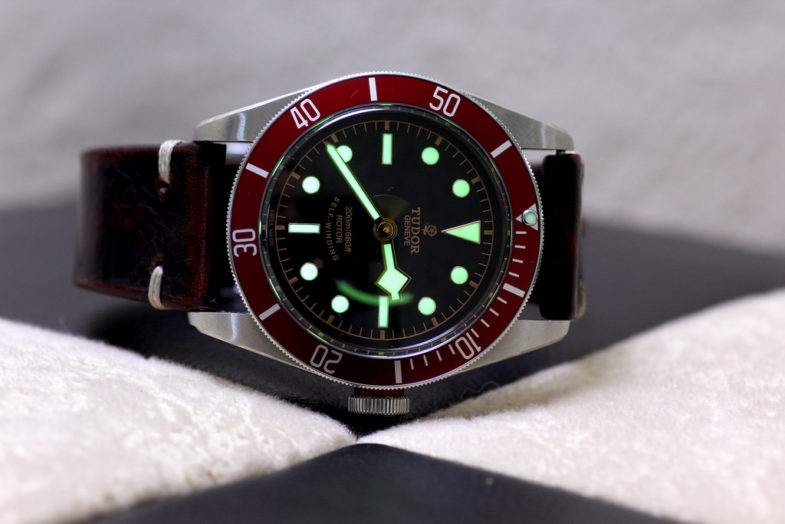 Tudor Black Bay. Red bezel в центре внимания