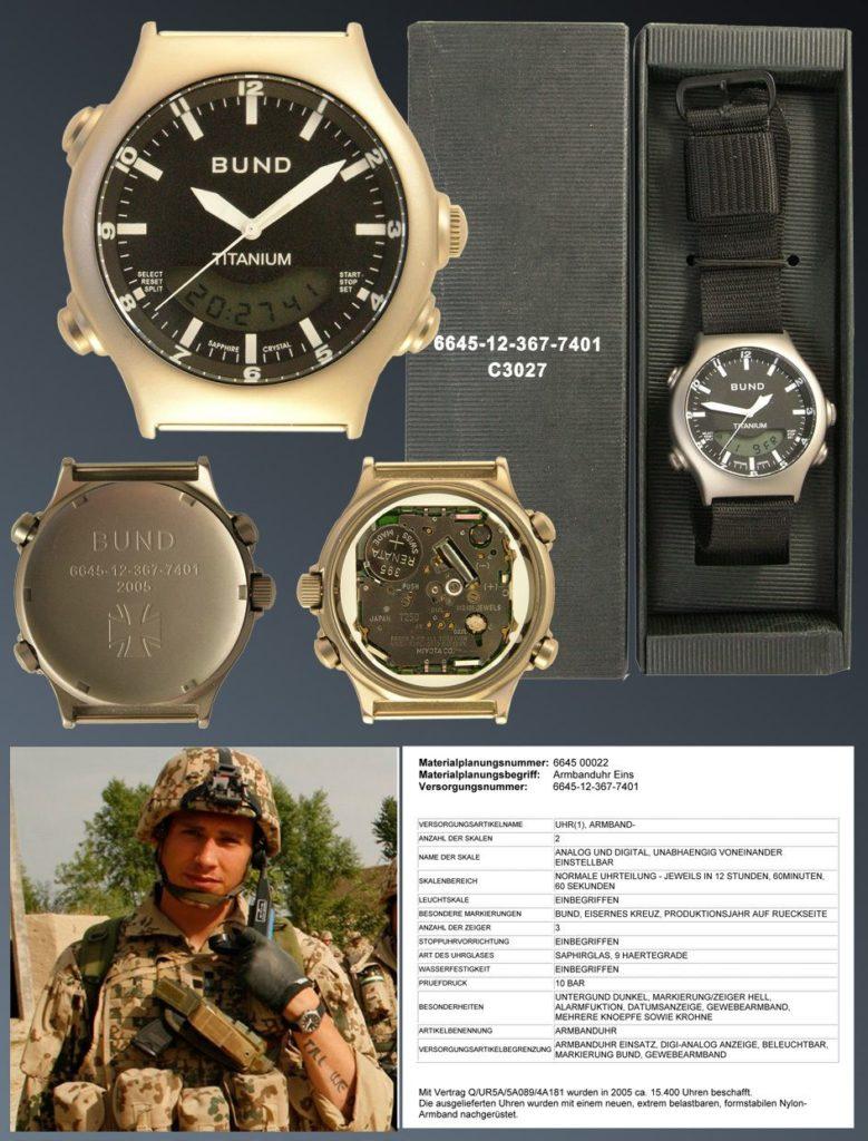 Современные военные часы Бундесвера
