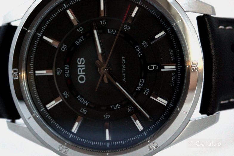 Oris Artix GT - первый в мире обзор спортивной новинки от Орис