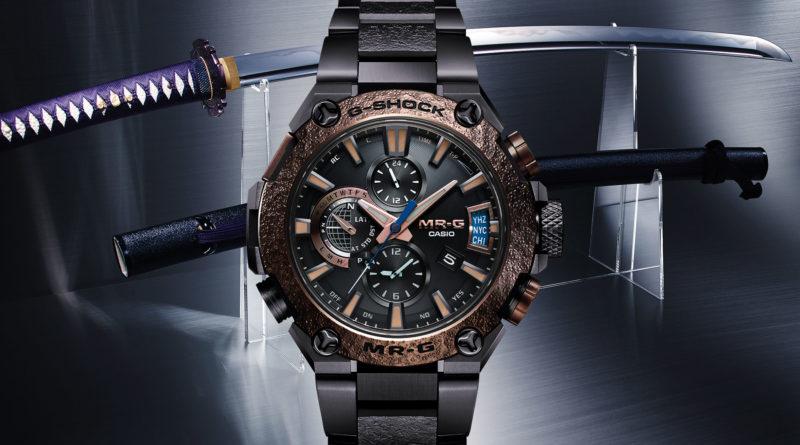 G-Shock MRG-G2000RJ-2A Jyuryoku Maru – на острие клинка