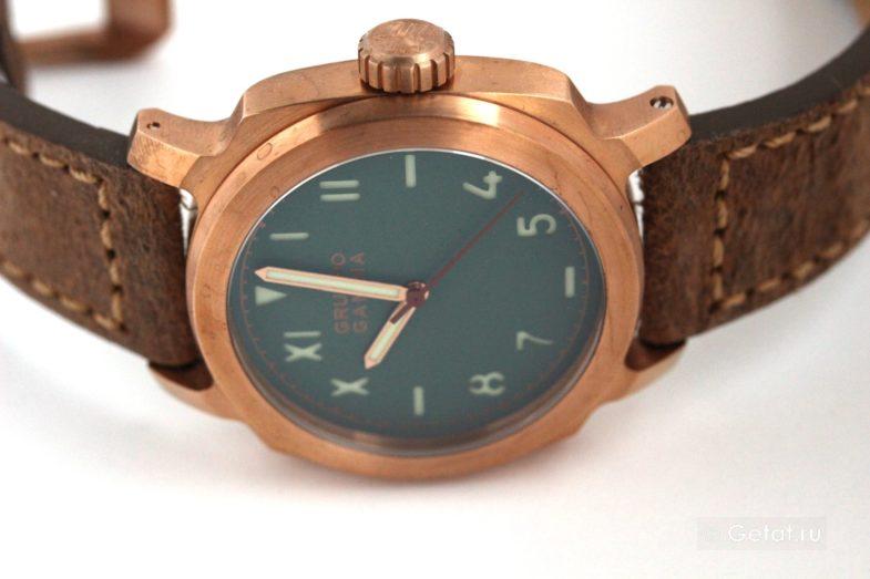 Месяц с Gruppo Gamma Vanguard Retro Bronze - обзор часов
