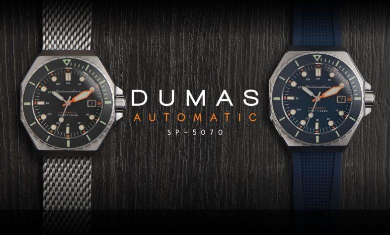 Обновленная дайверская модель Spinnaker Dumas