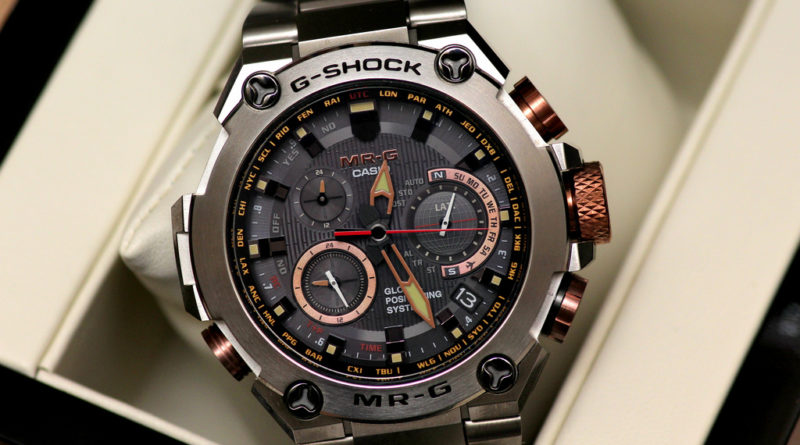 G-Shock MRG-G1000. Взгляд на топ-представителя Casio