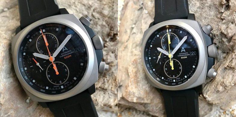 Первые дайверские хронографы Andersmann Watches