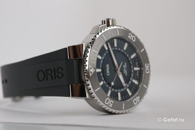 Oris Aquis: коричневые или синие? Сразу 2 красавца на обзоре