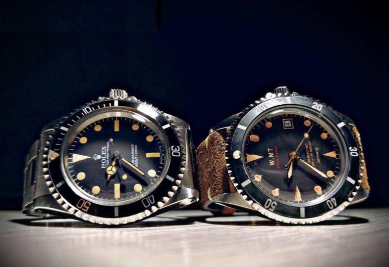 Конструктор винтажных Submariner от WMT Watches
