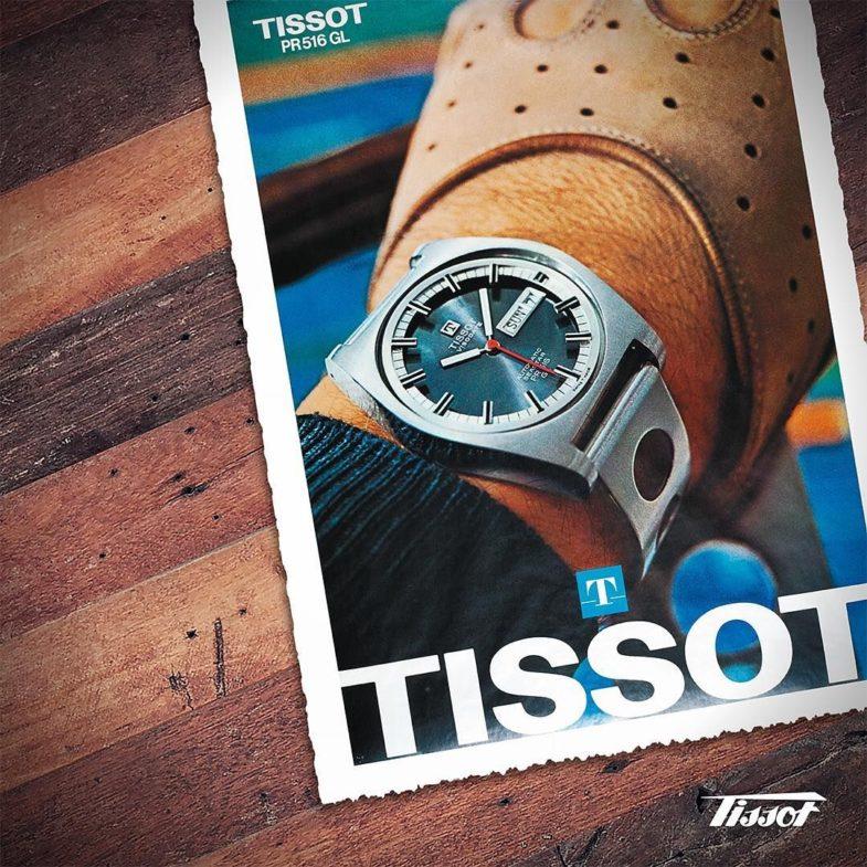 Автоспортивный хронограф родом из 70-х от Tissot