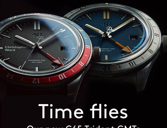 Christopher Ward C65 Trident GMT