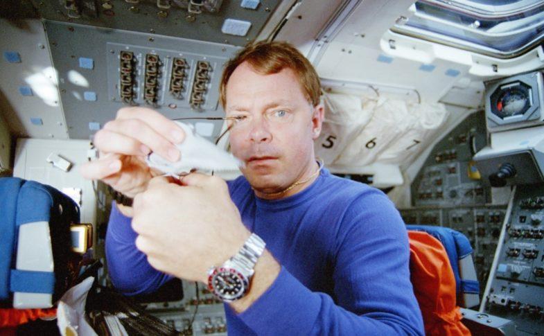 Rolex и космос