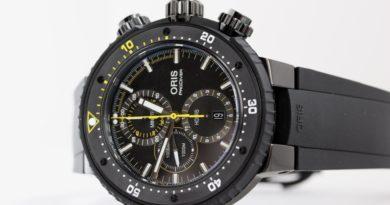 Примеряем Oris ProDiver Dive Control Limited Edition