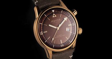 Новинки Alpina Seastrong Diver Heritage