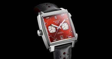 Юбилейная лимитка Tag Heuer Monaco №2 – восьмидесятые