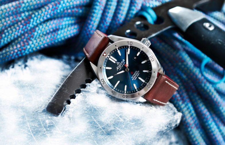 Alpina: кварцевый новичок коллекции Alpiner
