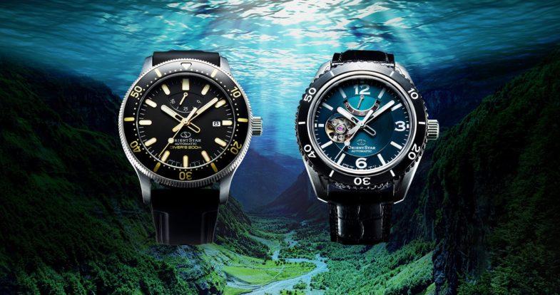 Field & Diver новинки линейки Orient Star