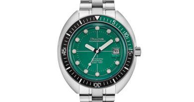 Bulova Oceanographer Diver Green