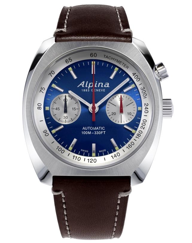 Хронограф-монопушер от Alpina