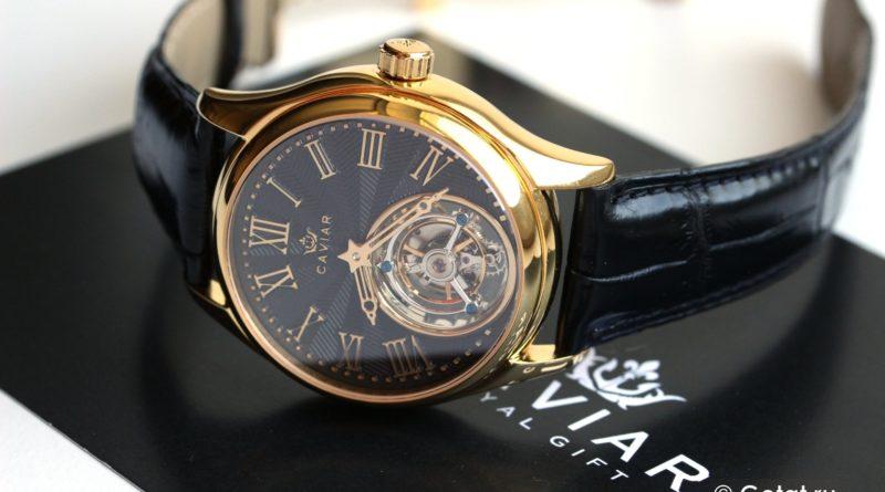 ЦАРЬ-часы от CAVIAR с турбийоном