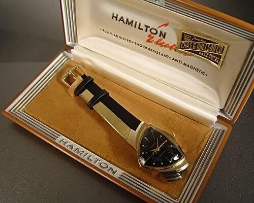 Hamilton Ventura. Часы в треугольнике