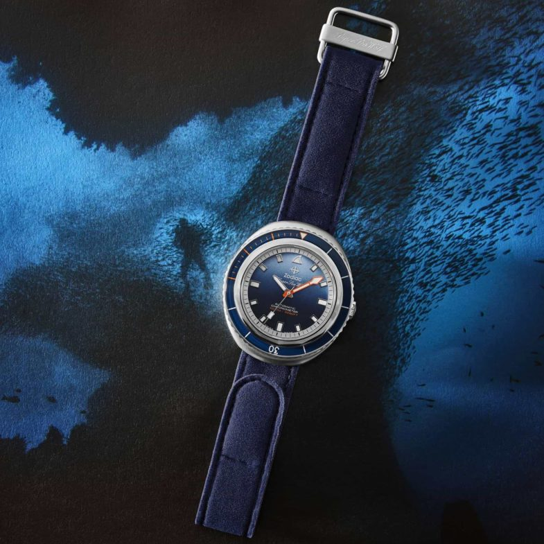 Zodiac Super Sea Wolf 68 Saturation x Andy Mann Limited Edition