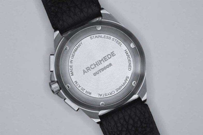 Outdoor хронограф от Archimede