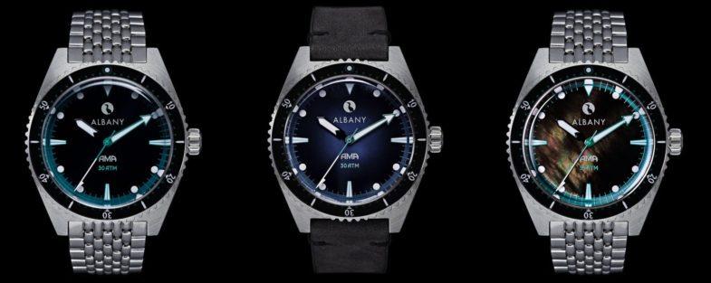 Часы, посвященные японским ныряльщицам, от Albany Watches (16+)