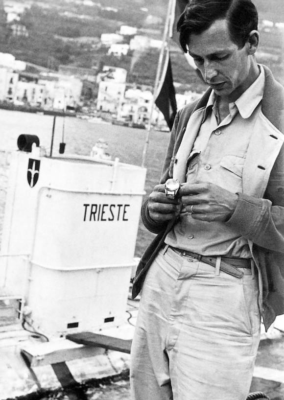 Spinnaker Piccard к 60-летнему юбилею погружения батискафа «Триест» в Марианскую впадину