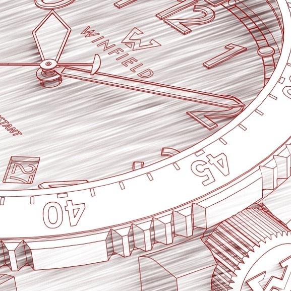 Первые тool watch от микробренда Winfield Watch Company