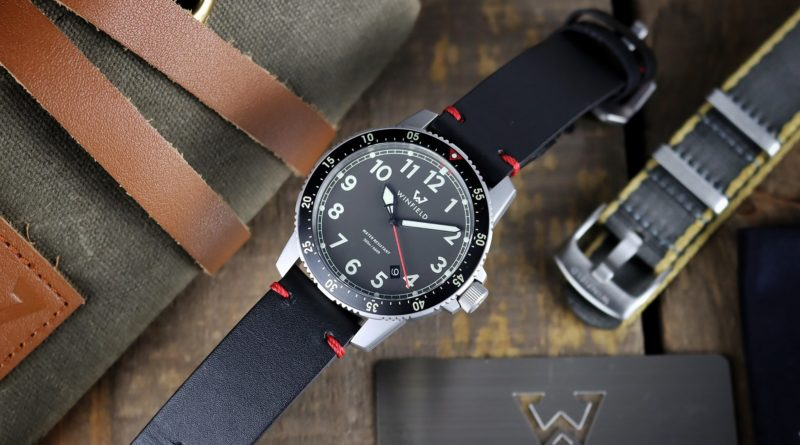 Первые тool watch от микробренда Winfield Watch Company