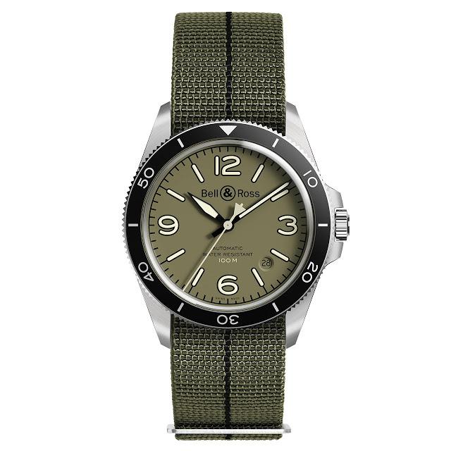 Bell & Ross BR V2-92 Military Green