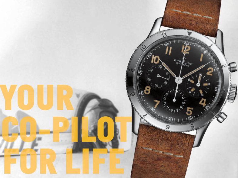 «Новая жизнь» авиационного хронографа 1953 года от Breitling