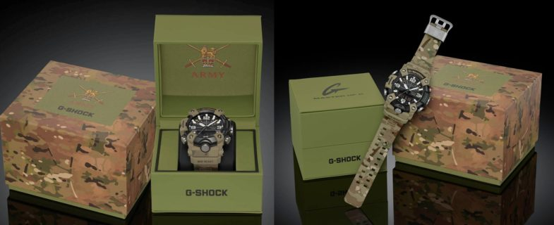 G-Shock Mudmaster как плод сотрудничества Casio и MoD