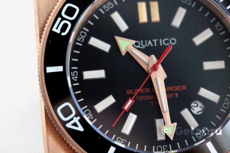 Aquatico Super Charger Dive 1000 - БОМБА! Тритий как у Ball!