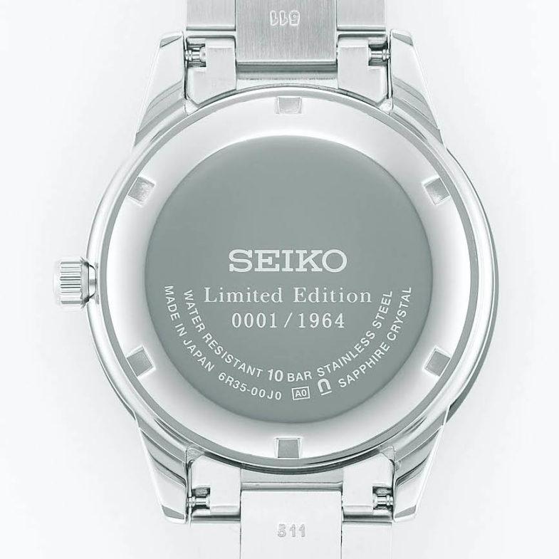 Seiko Presage 2020 LE – лимитированный трехстрелочник, вдохновленный хронографом