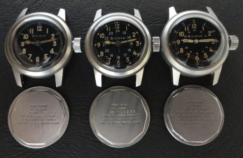 Bulova представила три модели в милитари стиле