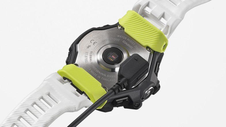 Casio G-SQUAD GBD-H1000 – спортивные часы с пятью датчиками и их младшая версия