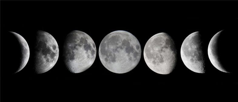 Восточная звезда с указателем лунных фаз