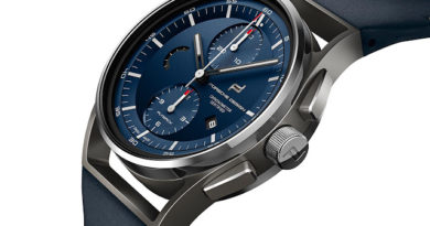 Мануфактурные Porsche Design 1919 Chronotimer Flyback Blue & Leather